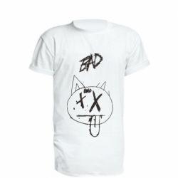 Удлиненная футболка Xxtenations bad smile