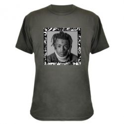 Камуфляжна футболка XXXTentacion 1