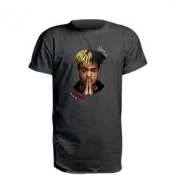 Купить Удлиненная футболка XXXTentacion Alone, FatLine