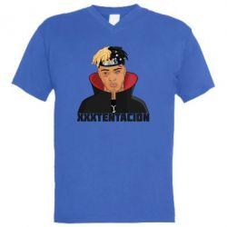 Купить Masha, Мужская футболка с V-образным вырезом XXXTentacion, FatLine