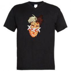 Чоловіча футболка з V-подібним вирізом Xxxtentacion