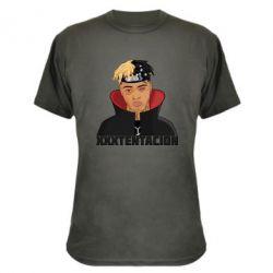 Камуфляжна футболка XXXTentacion