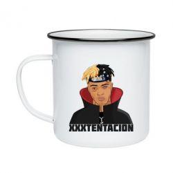 Кружка емальована XXXTentacion
