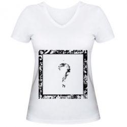 Жіноча футболка з V-подібним вирізом XXXTENTACION
