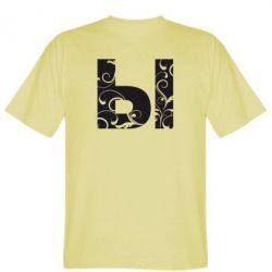 Мужская футболка Ы