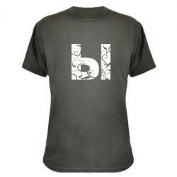 Камуфляжная футболка Ы - FatLine