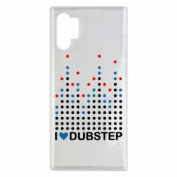 Чехол для Samsung Note 10 Plus Я люблю DubStep
