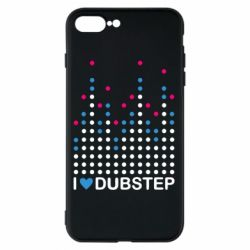 Чехол для iPhone 8 Plus Я люблю DubStep