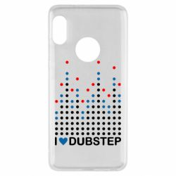 Чехол для Xiaomi Redmi Note 5 Я люблю DubStep