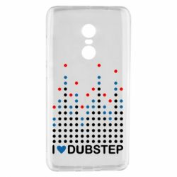 Чехол для Xiaomi Redmi Note 4 Я люблю DubStep