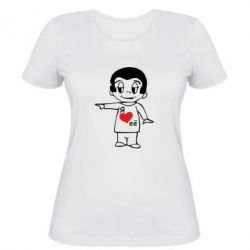 Жіноча футболка Я люблю її