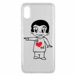 Чехол для Xiaomi Mi8 Pro Я люблю ее