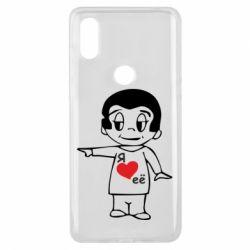 Чехол для Xiaomi Mi Mix 3 Я люблю ее