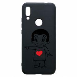 Чехол для Xiaomi Redmi 7 Я люблю ее