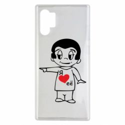 Чехол для Samsung Note 10 Plus Я люблю ее