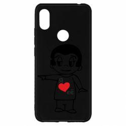 Чехол для Xiaomi Redmi S2 Я люблю ее