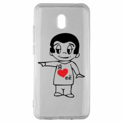 Чехол для Xiaomi Redmi 8A Я люблю ее