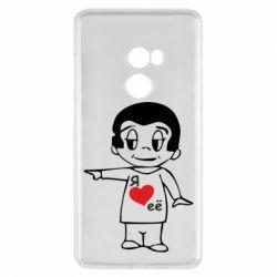 Чехол для Xiaomi Mi Mix 2 Я люблю ее