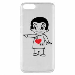Чехол для Xiaomi Mi Note 3 Я люблю ее