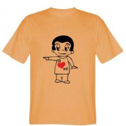 Мужская футболка Я люблю її - FatLine