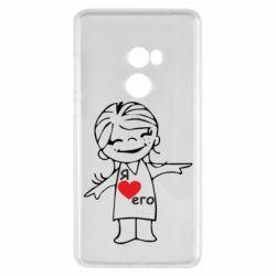 Чехол для Xiaomi Mi Mix 2 Я люблю его - FatLine