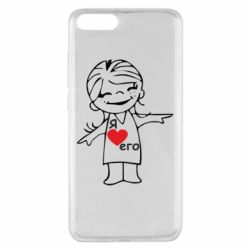 Чехол для Xiaomi Mi Note 3 Я люблю его