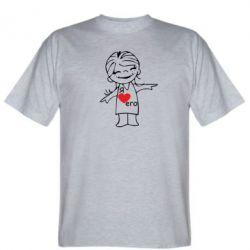 Мужская футболка Я люблю його - FatLine