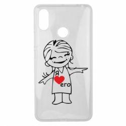 Чехол для Xiaomi Mi Max 3 Я люблю его - FatLine