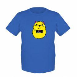 Дитяча футболка Я люблю їсти