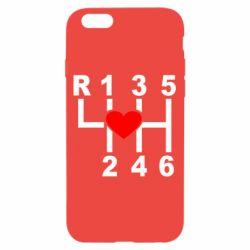Чехол для iPhone 6/6S Я люблю механическую коробку передач!