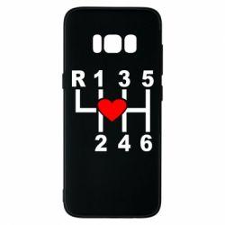 Чехол для Samsung S8 Я люблю механическую коробку передач!