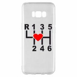 Чехол для Samsung S8+ Я люблю механическую коробку передач!