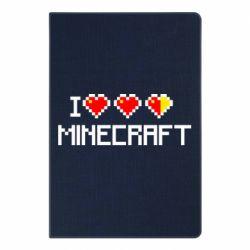 Блокнот А5 Я люблю Minecraft