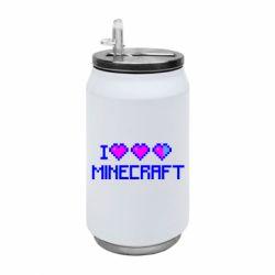 Термобанка 350ml Я люблю Minecraft