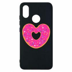Чехол для Xiaomi Mi8 Я люблю пончик