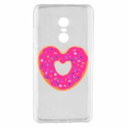 Чехол для Xiaomi Redmi Note 4 Я люблю пончик