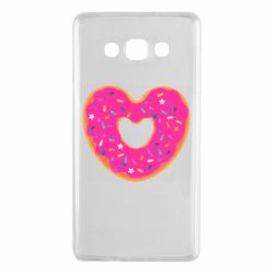 Чехол для Samsung A7 2015 Я люблю пончик