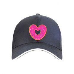 Кепка Я люблю пончик