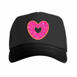 Кепка-тракер Я люблю пончик