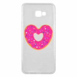 Чехол для Samsung J4 Plus 2018 Я люблю пончик