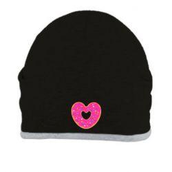 Шапка Я люблю пончик