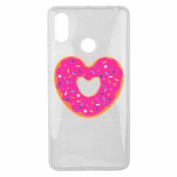 Чехол для Xiaomi Mi Max 3 Я люблю пончик