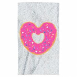 Полотенце Я люблю пончик