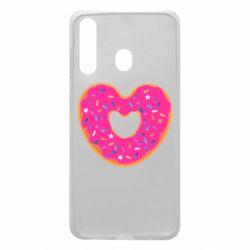 Чехол для Samsung A60 Я люблю пончик