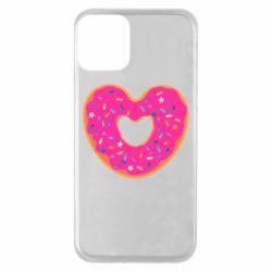 Чехол для iPhone 11 Я люблю пончик