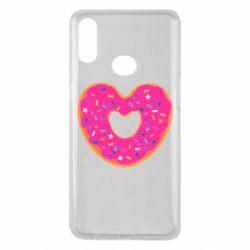 Чехол для Samsung A10s Я люблю пончик