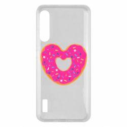 Чохол для Xiaomi Mi A3 Я люблю пончик