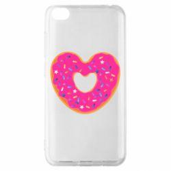 Чехол для Xiaomi Redmi Go Я люблю пончик