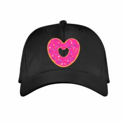 Детская кепка Я люблю пончик