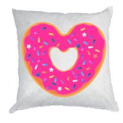 Подушка Я люблю пончик